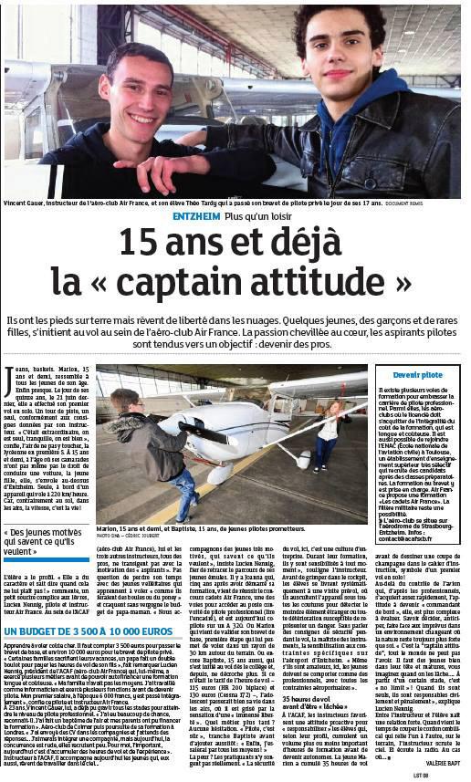Article Jeunes Club
